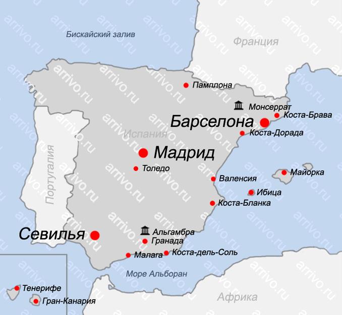 Карта Валенсии Валенсия Испания Карта